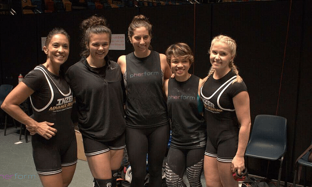TWO PHERFORM STAFF & A MEMBER GO POWERLIFTING. OH…. & THEY WIN GOLD!